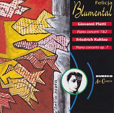 PLATTI Piano concerti 1&2  KUHLAU Piano concerto op.7 Felicja Blumental, wie neu