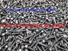 Cap Screws 5//16x18x1 5//16-18x1 Grade 8 Hex Head Flange Frame bolt 50