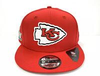 New Era NFL Kansas City Chiefs Basic Mens Snapback 9FIFTY 950 Superbowl Cap Hat