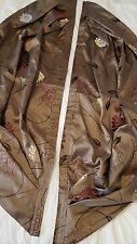 Pelmet Swags Brown Red Gold John Lewis Priscilla Curtain Fabric BRAND NEW + Tape