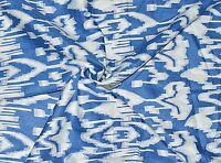 100% Cotton Fabric Hand Print Sewing Dressmaking Clothes Handmade 5 Yard Fabric
