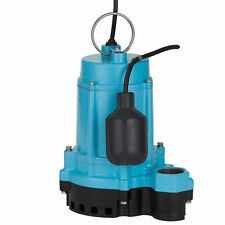 Little Giant 6EC-CIM -RF - 1/3 HP Cast Iron Submersible Pump w/ Piggyback Tet...