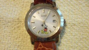 Vintage Citizen Mickey Mouse  Wrist Watch Eco Drive