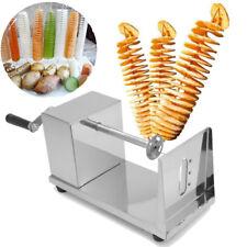 Cortador de Patatas Vegetables en Espiral Máquina Acero Inoxidable Hogar Cocina