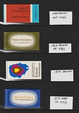 Australia - Prime Minister Booklets - cat. $ 92.00+