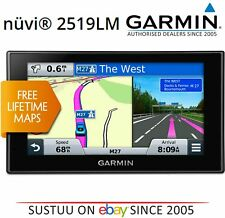 "Garmin Nuvi 2519LM│5"" GPS SatNav│Bluetooth│Foursquare│*Free LifeTime UK IRE Maps"