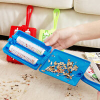 Handheld Carpet Table Sweeper Crumb Dirt Brush Cleaner Roller Cosp Collecto I0E2