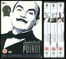 AGATHA CHRISTIE'S POIROT The Complete Collection 57 episodes on 24 DVDs