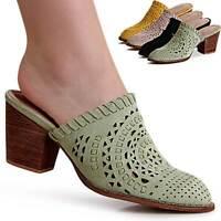 Damenschuhe Slipper Pantoletten Pumps Mules Sandalen Sandaletten Clogs Trendy