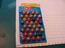 Vintage HI-BOUNCING BALL 36 of 36 w card 1980's from Taiwan, VERY COOL DISPLAY 1