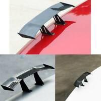 Universal Mini Carbon Fiber Pattern Spoiler Auto Rear Tail Wing Car Decoration