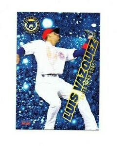 Luis Vazquez 2021 South Bend Cubs Baseball card Orocovis PR Chicago Cubs