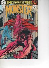 COMICS GREATEST WORLD- MONSTER 4 -JULY 1993 MINT
