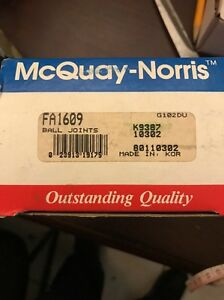 Suspension Ball Joint-McQuay Norris Front Lower fits 86-89 Toyota Celica