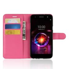 Fits LG X Power / 2 / 3 New PU Leather Pouch Flip Cover Wallet Phone Case