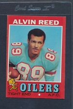 1971 Topps #169 Alvin Reed Oilers EX/MT *1478