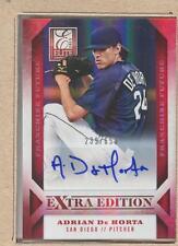 Adrian De Horta 95 2013 Elite Extra Edition Fr. Futures Autograph Auto 239/569