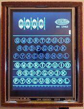 Arduino Enigma Machine Simulator:I,M3,M4,Uhr and Printer. Laser Cut Case w/ Logo