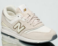 New Balance 697 Women's Off White Low Casual Athletic Lifestyle Sneakers Shoes