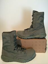 """New Men's Nike SFB QS 8"""" Special Field Military Boots Sage Size 9 479977 300"""