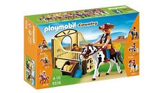 PLAYMOBIL Country Rodeo Horse with Stall Set