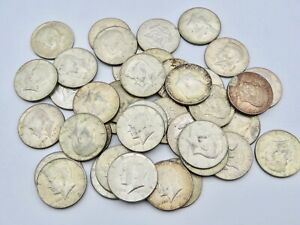 1965- 1969 40% SILVER KENNEDY HALF DOLLAR 1 COIN