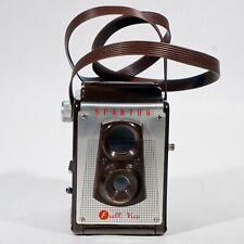 Vintage Rare model SPARTUS FULL-VUE 120 Film Box Camera Collectible Camera TLR