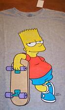 VINTAGE STYLE THE SIMPSONS BART SIMPSON SKATEBAORD T-Shirt SMALL NEW w/ TAG