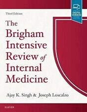 Brigham Intensive review of Internal Medicine brand new.no markings or highlight