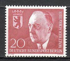 Germany / Berlin - 1960 Walther Schreiber (politician) - Mi. 192 MNH