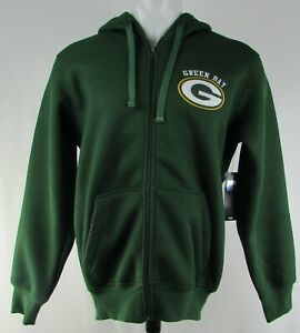 Green Bay Packers NFL G-III Men's Knit Fleece Lined Hoodie