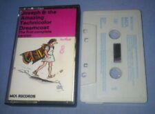 JOSEPH & THE AMAZING TECHNICOLOR DREAMCOAT cassette tape album T6120