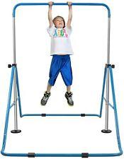 Adjustable Horizontal Kids Gymnastics Bar Jungle Training Monkey Bar Kip Bar Gym