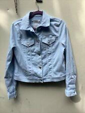 Michael Kors Light Blue Jacket Size M Jean Jacket Style