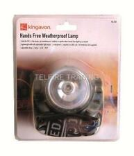 JOBLOT OF 6 HANDS FREE WATERPROOF HEAD LAMP WORKING LIGHT TORCHES WEATHER PROOF