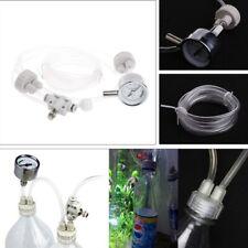 Aquarium CO2 Generator System Kit With Pressure Guage Water Plants D201 DIY Tool