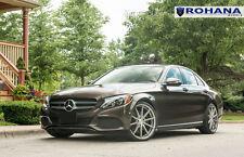 20x8.5 +40 5x112 Rohana RF1 Titanium Rim Fit Mercedes C300 2015 Aggressive Wheel