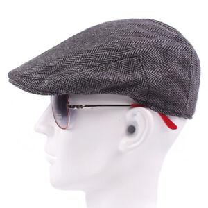Baker Hat Peaky Blinders Newsboy Gatsby Herringbone Flat Cap Classic Style Retro