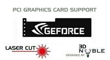 BLACK - GEFORCE - GPU Anti-Sagging Support Bracket/Brace GTX NIVIDA AMD ROG