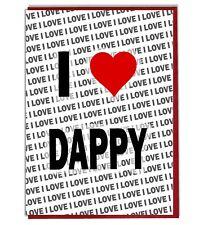 Greeting Card - Birthday Card - I Love Dappy
