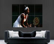 SERENA Williams poster TENNIS Player SPORT legende FEMMINILE DA DONNA SPORT GIOCO