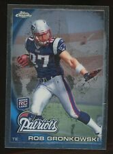 2010 Topps Chrome Rob Gronkowski New England Patriots RC Rookie