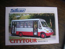 Sitcar City Tour IVECO 50c13 prospetto/brochure/DEPLIANT, I/D/GB/F