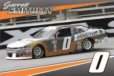 """2018 GARRETT SMITHLEY """"TROPHY TRACTOR FAME"""" #0 NASCAR XFINITY SERIES POSTCARD"""