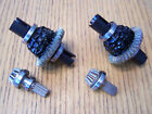 2 Traxxas 8s X-Maxx Front & Rear Heavy Duty Differential Ring & Pinion Gear Diff