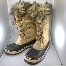 Sorel Joan of Arctic Womens Boots 10 Waterproof NL1540-226