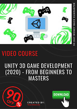Unity 3D Game Development (2020) - From Beginners to Masters video training