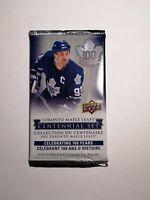 2017 Upper Deck Toronto Maple Leafs 100th Centennial Set Hockey Cards 1 Pack