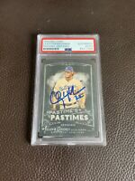 Clayton Kershaw Signed 2014 Topps Allen & Ginter's Card Psa/DNA Rare Dodgers Mvp