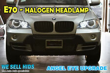 40w BMW X5 E70 LED White Angel Eyes Halo Marker Rings Upgrade For Halogen Cars